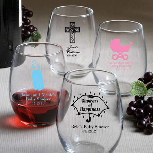 Personalized Stemless Wine Glasses Fashion Craft