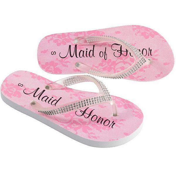 Wedding Party Flip Flops