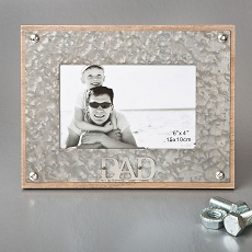 Industrial Style Metal Frame 4 X 6 - Dad