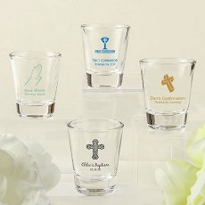 Screen Printed Shot Glass From Fashioncraft - Religious