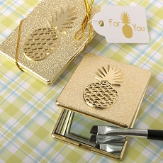 Pineapple Themed Warm Welcome Collection Compact Mirror