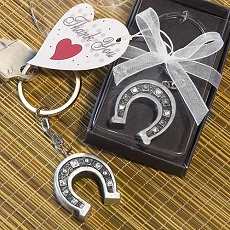 Horseshoe Keychain Favor