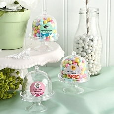 Personalized Mini Cake Stand / Plastic Box