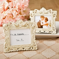 Vintage Baroque Design Placecard Holder/Frame