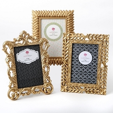 Baroque Style Frames Set of 3 by Gifts from fashioncraft