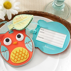 OwlBe Seeing You Owl Luggage Tag