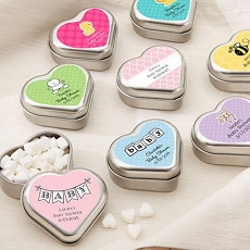 Mint For You Heart-Shaped Mint Tin