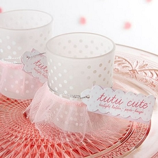 Tutu Cute Frosted Glass Votive (Set of 4)