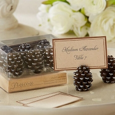 Pine Cone Placecard Holder(Set of 6)
