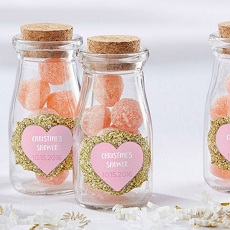 Personalized Milk Jar - Sweet Heart (Set of 12)