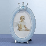 Oval Crown Frame 3.5x5 Blue