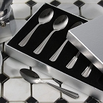Espresso Spoons set of 6 Satin finish