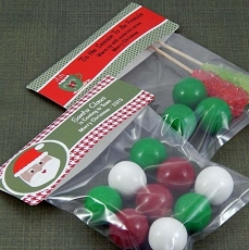 Personalized Christmas Goodie Bags (Set of 12)