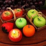 Fruit Shaped Candles (Assorted)