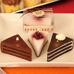 Slice of Heaven Cake Shaped Candles (Assorted)