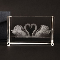 Love Swans Paperweight