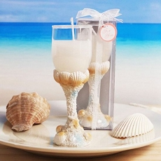 Treasures of the Sea Seaside Toast Candle