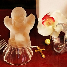 Heaven Sent Arte Murano Glass Angel Wedding Bell