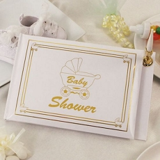 Leave Some Joy Guest Book (Gold)