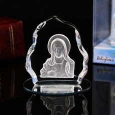 Virgin Mary Crystal Favor