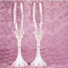 Princess Collection Toasting Glasses set