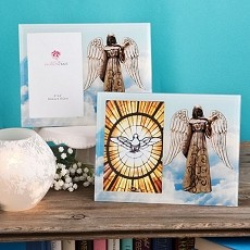 Angel Themed Glass Picture Frame