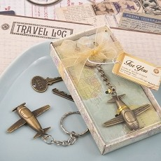 Vintage Airplane Design in Antique Brass Color Finish