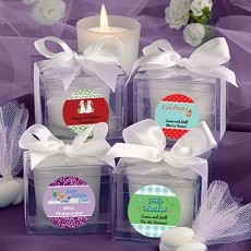 Personalized Candle- Holiday