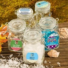 Personalized Apothecary Jars-Holiday