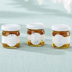 Personalized Honey Jar - Silver Foil (Set of 12)
