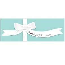 Personalized Something Blue Table Runner