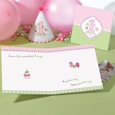 1st Birthday Memory Book-Pink
