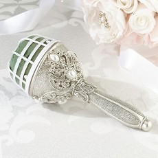 Jeweled Bouquet Holder