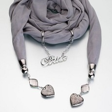 Bride Scarf - Grey