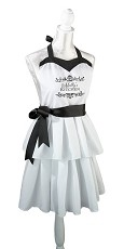Black & White Apron (can be personalized)