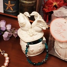 Love Swans Jewelry Box