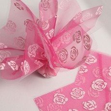 Roses Double Layer Tulle 13