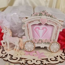 Wedding Carriage Frame/Place Card Holder