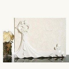 Bride and Groom Guest Book