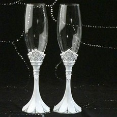 Queen For A Day Toasting Glasses Set