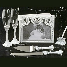 Queen for a Day Wedding Set
