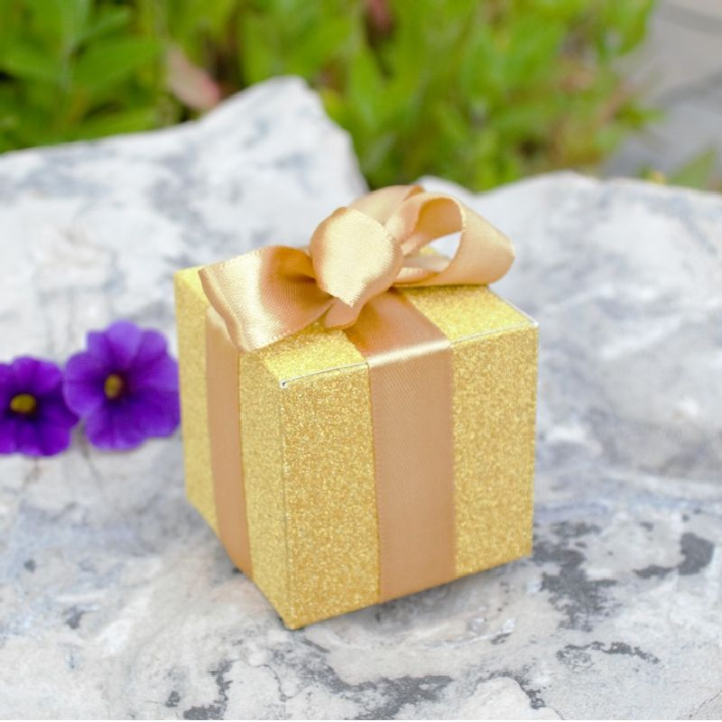 All that Glitters' Gold Favor Boxes (Set of 24)