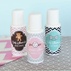Personalized Baby Shower Sunscreen
