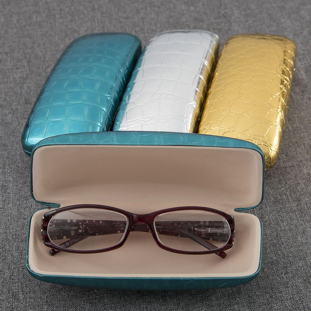 Metallic Eyeglass Holders In 3 Assorted Colors - Fashioncraft
