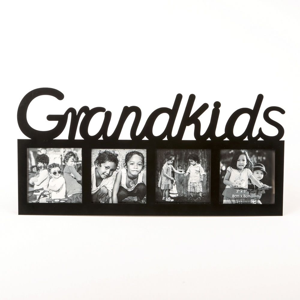 Grandkids Large Letter Multi Opening Frame|fashion craft|