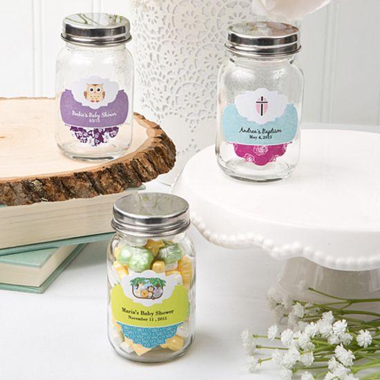 Customized Mason Jar Wscrew Top Babyfashion Craft