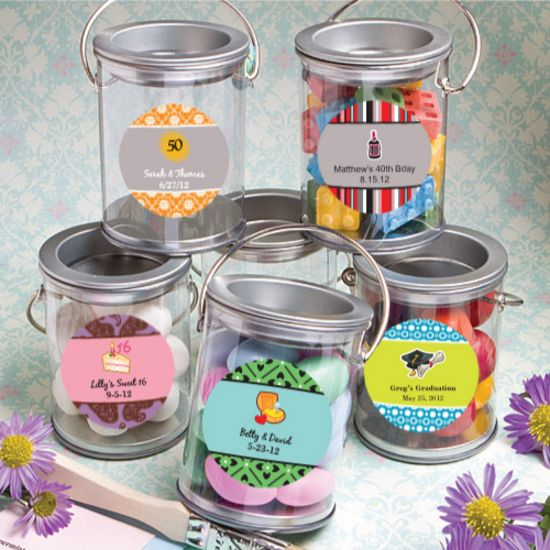 Design Your Own Mini Paint Cans Favors Celebratefashion Craft