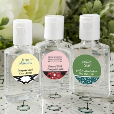Personalized Expressions Hand Sanitizer Favors-Graduation