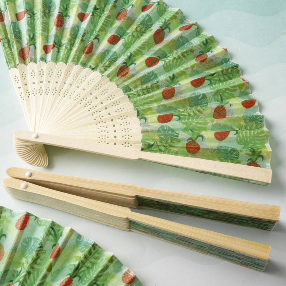 Tropical  Pineapple Themed Fan