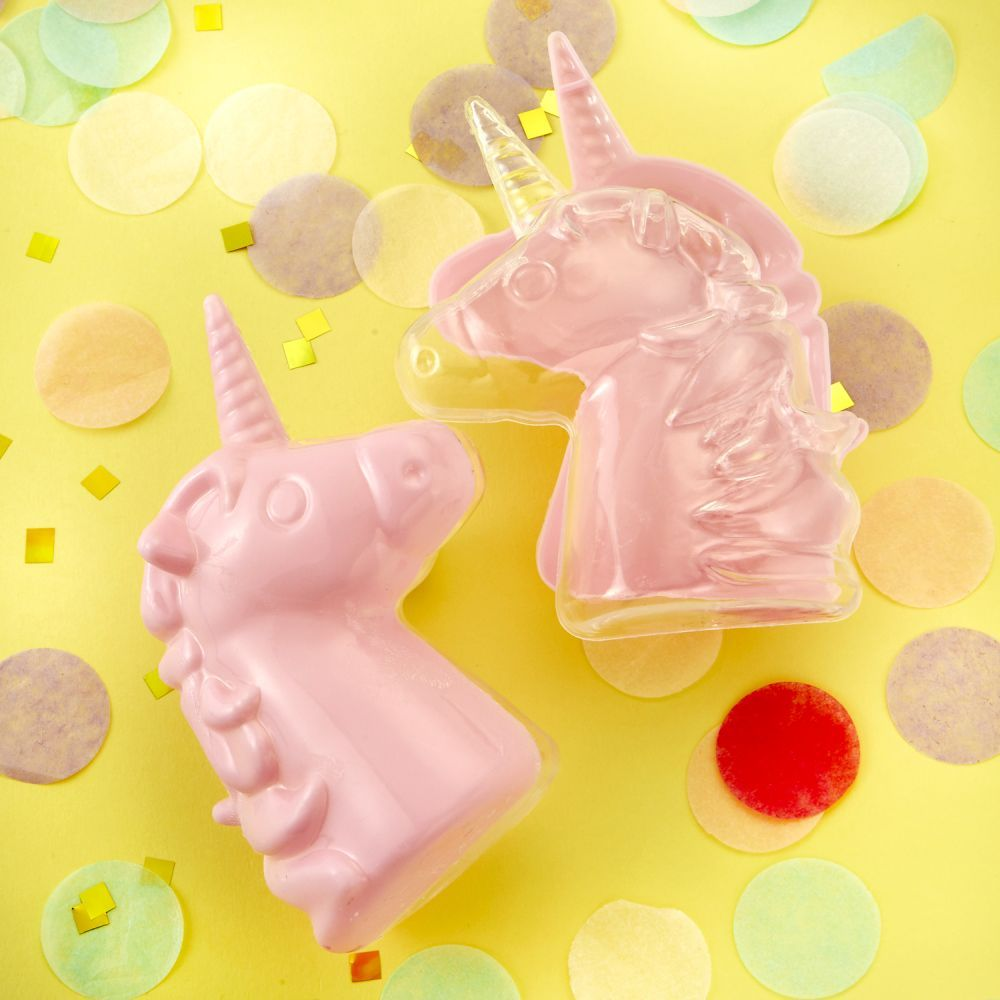 Perfectly Plain Fillable Pink Unicorn Box